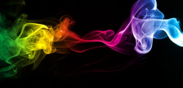 Smoke spectrum rainbow