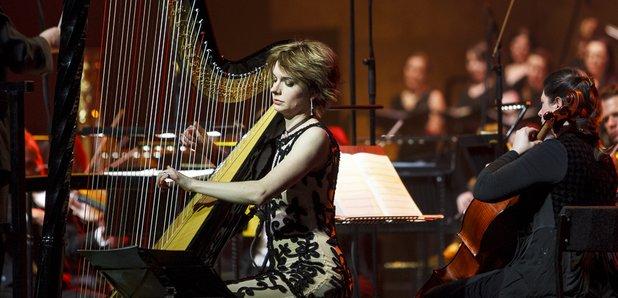 Catrin Finch live at Classic FM Live 2014 in Cardi