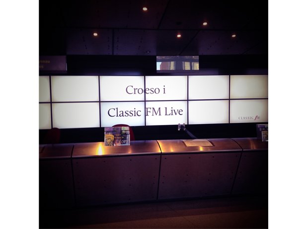 Classic FM Live in Cardiff behind the scenes