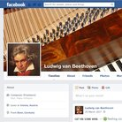 Beethoven's Facebook Page