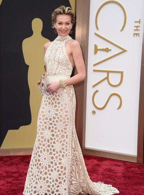 Portia de Rossi at the Oscars 2014 red carpet