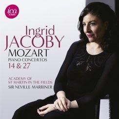 Ingrid Jacoby Mozart Marriner Piano Concertos