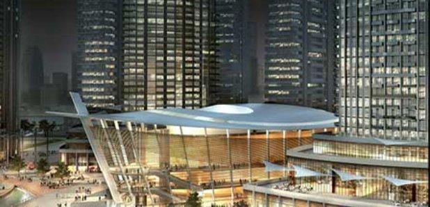 new dubai opera house