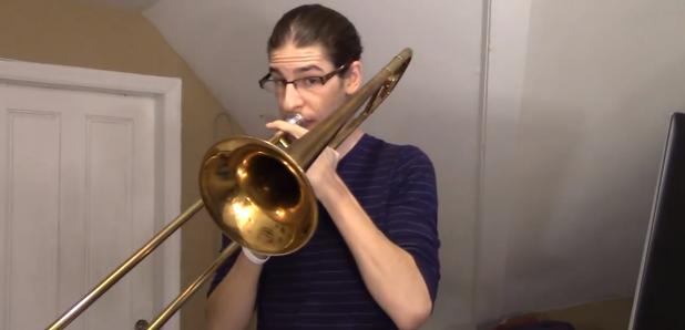 pharrell williams happy trombone cover version