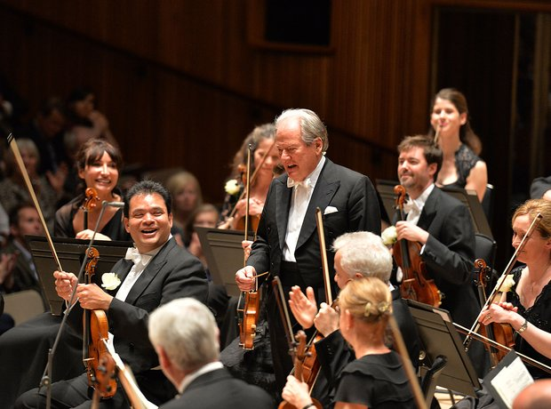 Neville Marriner Academy Martin Fields Royal Festival Hall 90th birthday