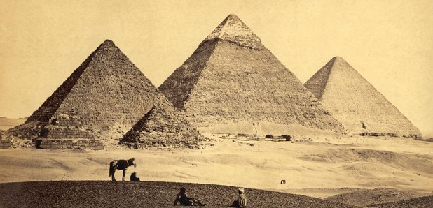pyramids Giza Egypt Cairo