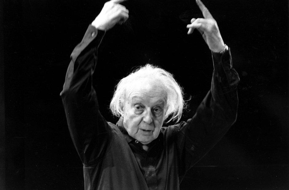 Conductor Leopold Stokowski