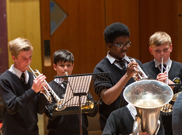 Stopsley High School Brass Group