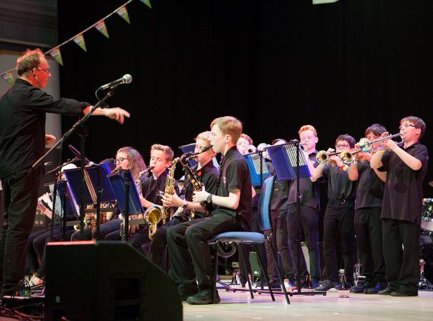 Burton Borough School Big Band