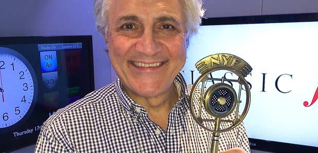 John Suchet New York Radio Award