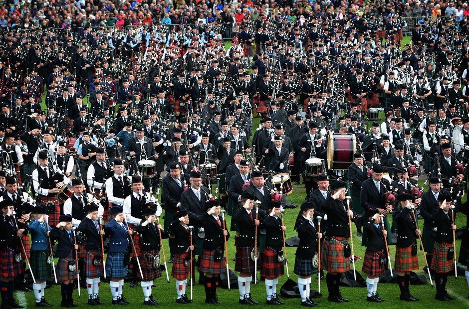 Glasgow Green World Pipe Band Championships 2013