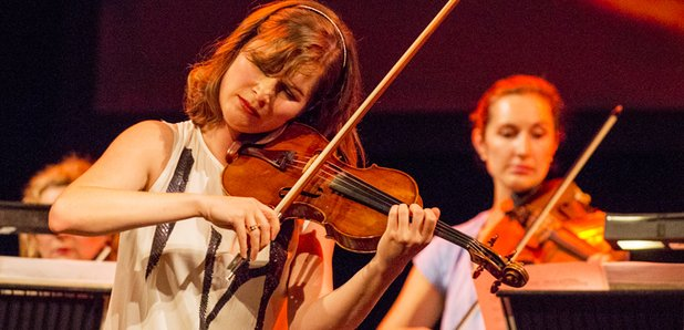 Lisa Batiashvili live at the Bristol Proms