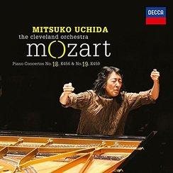 Mitsuko Uchida Mozart Piano Concertos 18 19