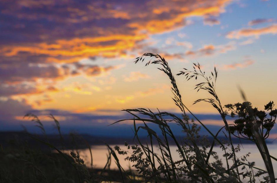 Filey Yorkshire sunset sea