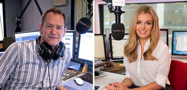 Katherine Jenkins and Alexander Armstrong