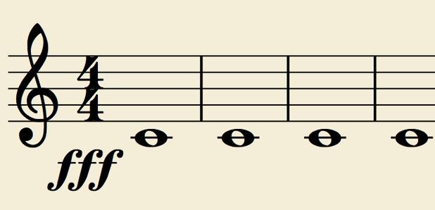 loud classical music