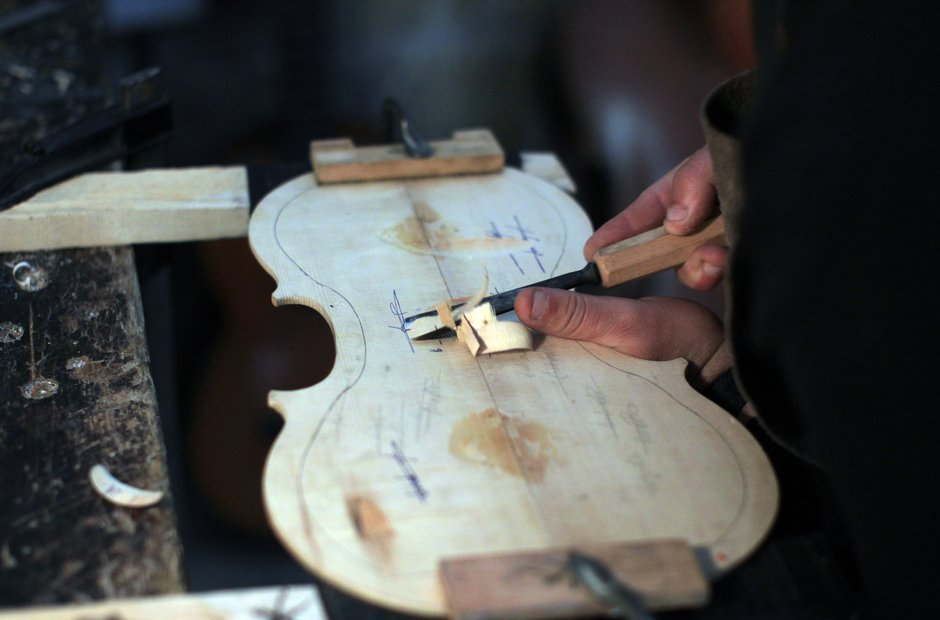 Violin Making - gouges - Shehada Shalalda