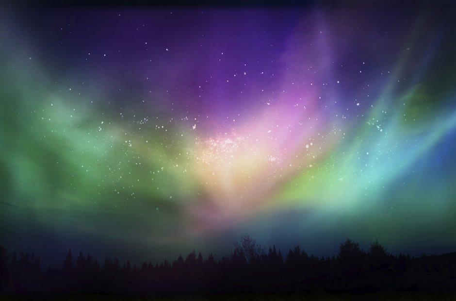 Aurora borealis Northern Lights Canada