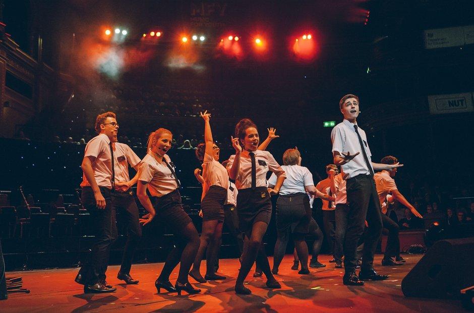 Haven High Academy 6th Form Choir Schools Prom 2014