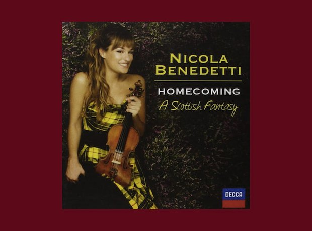 best-selling classical album 2014 benedetti homecoming