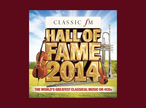best-selling classical album 2014 hall of fame
