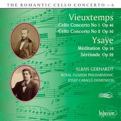 Vieuxtemps Ysaye Cello Concertos Romantic Hyperion