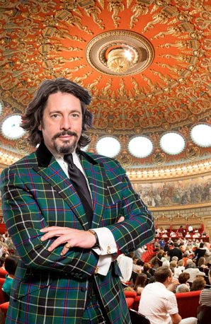 Laurence Llewelyn-Bowen at the Romanian Athenaeum