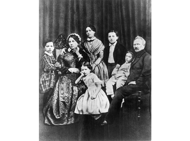 Tchaikovsky mother and family