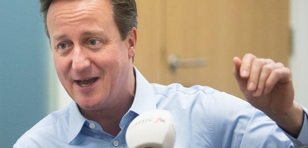 David Cameron and Nick Ferrari