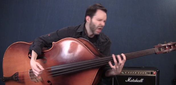 double bass shred video