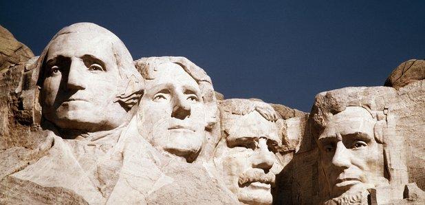 Rushmore Washington Jefferson Roosevelt Lincoln