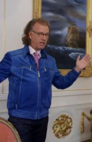Andre Rieu shows Classic FM his castle
