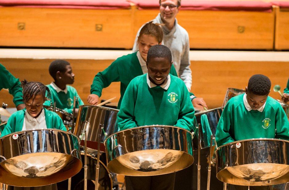 Holy Trinity CE School Steel Band