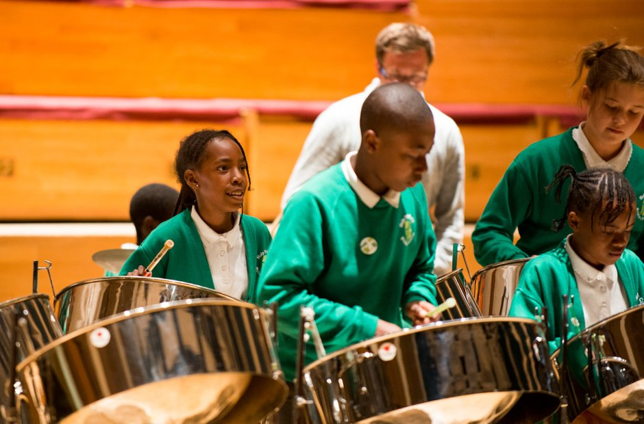Holy Trinity CE School Steel Band