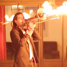 trombone flamethrower