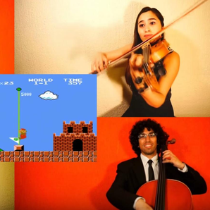Super Mario quartet