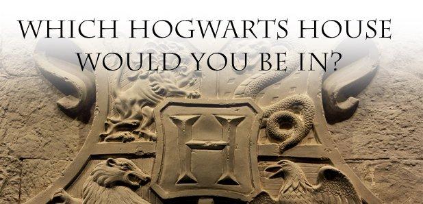 Hogwarts house quiz rectangle