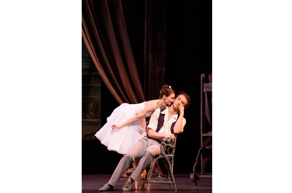 Lauren Cuthbertson and Vadim Muntagirov in The Two