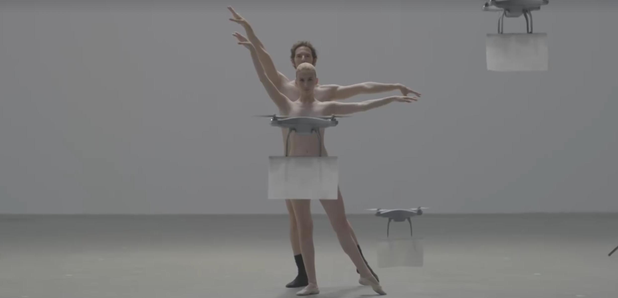 naked ballet dancers with drones