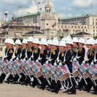 Royal Marines Beating Retreat