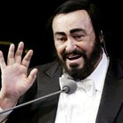 Donald Trump and Pavarotti