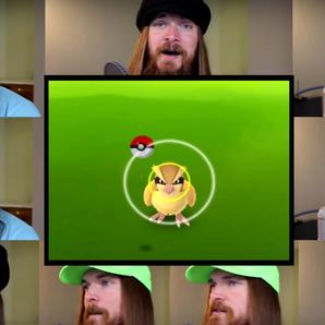 pokemon go a cappella video