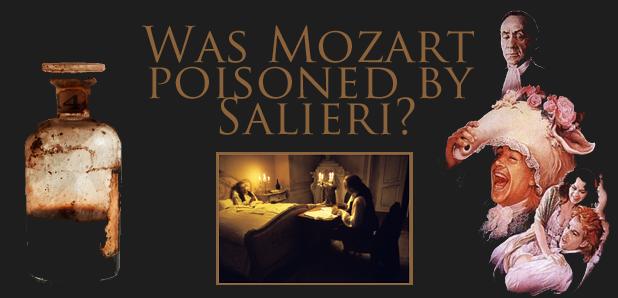 Amadeus poisoned Salieri