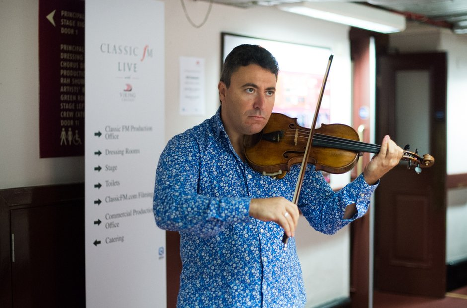 Classic FM Live Royal Albert Hall Maxim Vengerov