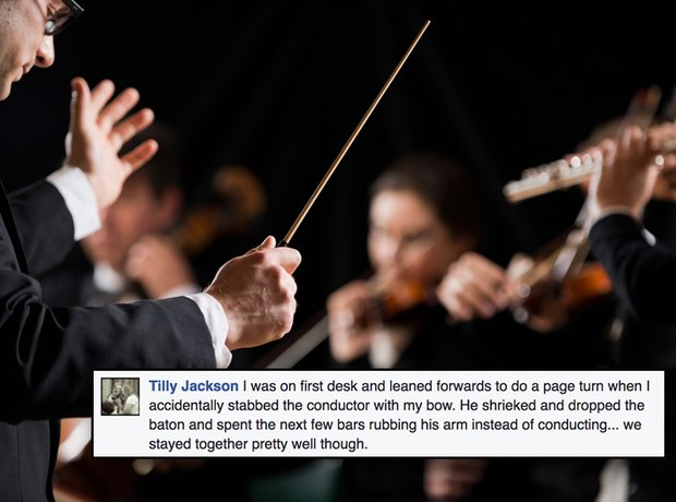 Concert horror stories
