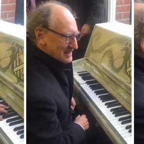 tube strike pianist